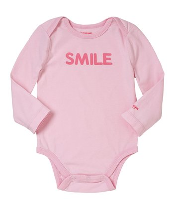 Pink Lady 'Smile' Bodysuit - Infant