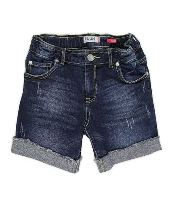Bella Wash Denim Shorts - Girls