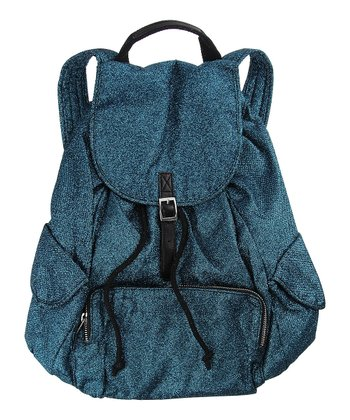 Dark Teal Glitter Backpack