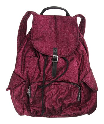 Electric Pink Glitter Backpack