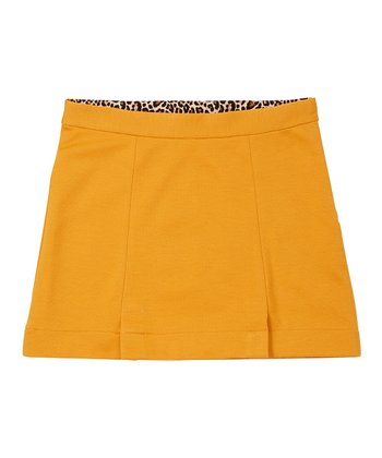 Ochre Ponte Skirt - Girls