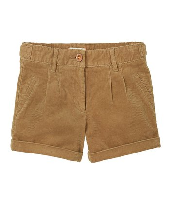 Sand Dune Corduroy Shorts - Girls