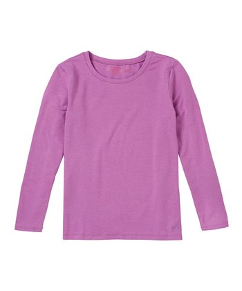 Parma Violet Long-Sleeve Tee - Girls