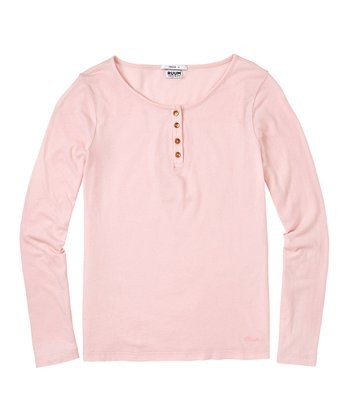 English Rose Super-Soft Henley - Toddler & Girls