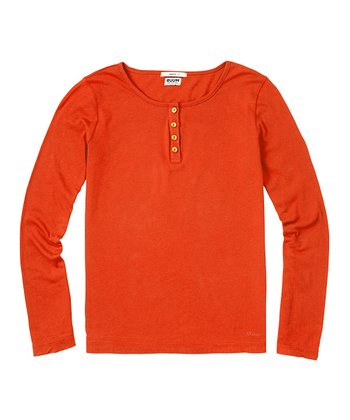 Flame Super-Soft Henley - Toddler & Girls
