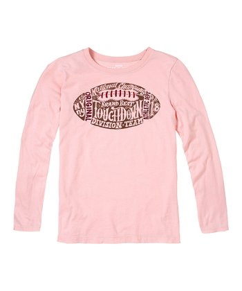 English Rose Football Tee - Girls
