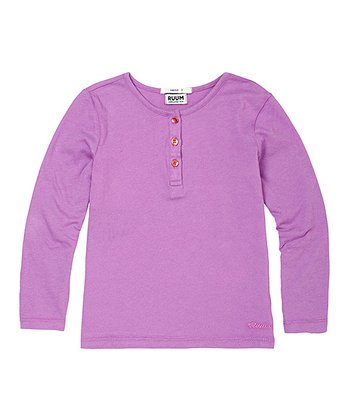 Parma Violet Super-Soft Henley - Infant & Toddler