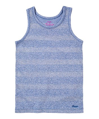 Rebel Purple Stripe Lurex Tank - Infant & Toddler