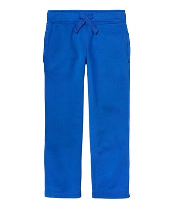Varsity Blue Fleece Pants - Boys