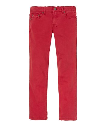 London Red Corduroy Pants - Infant, Toddler & Boys