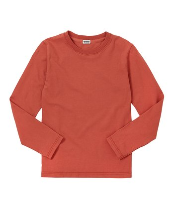 Burnt Orange Crew Tee - Infant, Toddler & Boys