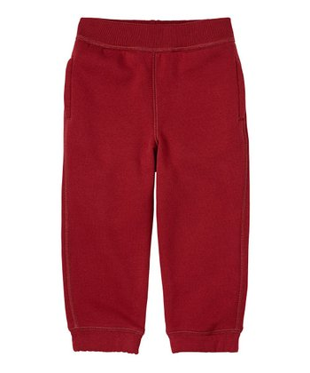 London Red Fleece Sweatpants - Infant, Toddler & Boys