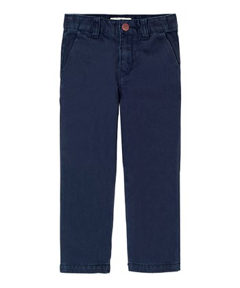 Navy Chino Pants - Infant, Toddler & Boys
