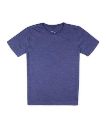 Ink Blue Heather Crew Tee - Toddler & Boys