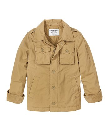 Field Khaki Jacket - Boys