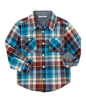 Rainstorm Autumn Plaid Button-Up - Infant, Toddler & Boys