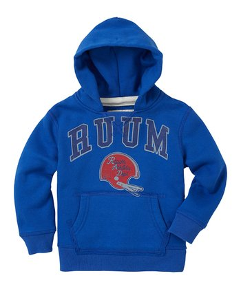 Varsity Blue 'RUUM' Hoodie - Infant, Toddler & Boys