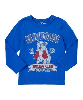 Varsity Blue Bulldog Tee - Infant, Toddler & Boys