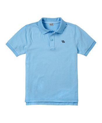 Carolina Blue Polo - Boys