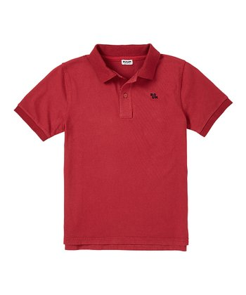 London Red Polo - Infant, Toddler & Boys
