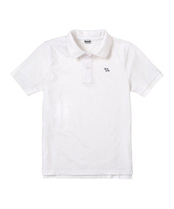 White Polo - Infant, Toddler & Boys