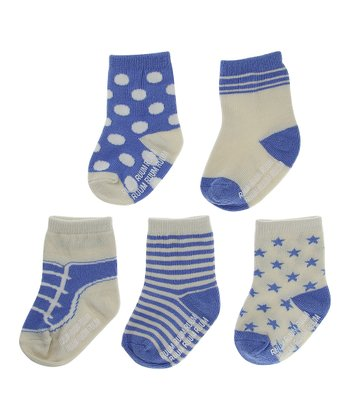 Blue Bonnet Socks Set
