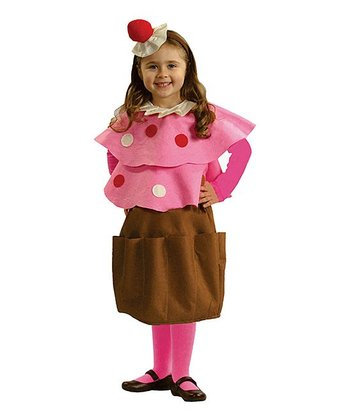 Pink Creamy Cupcake Dress-Up Set - Toddler & Girls