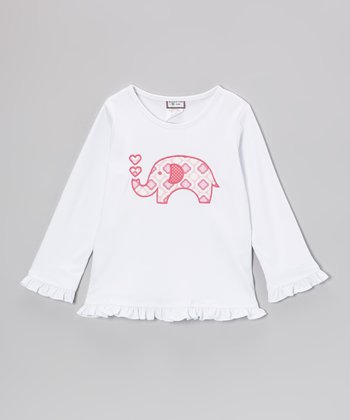 White Elephant Tee - Girls