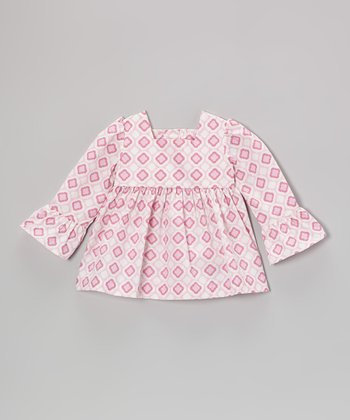 Pink Lyla Ruffle Top - Infant & Girls