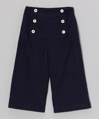 Navy Sailor Pants - Infant, Toddler & Girls