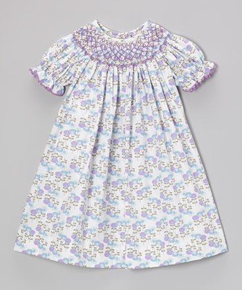 Purple Tulip Bishop Dress - Toddler