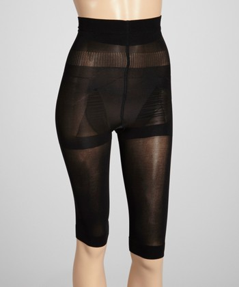 Black Shaper Capri Pants - Women & Plus