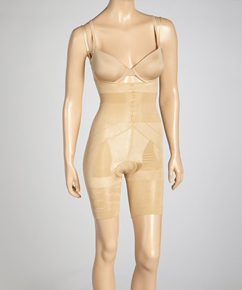 Nude Under-Bust Shaper Bodysuit - Women