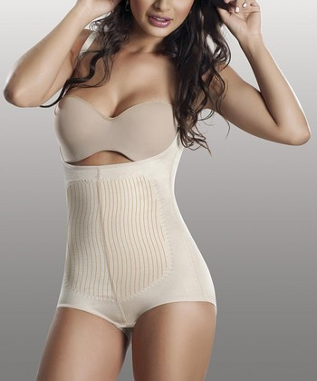 Nude Triconet Under-Bust Shaper Bodysuit - Women & Plus