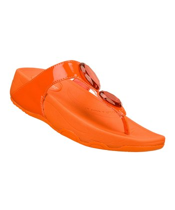 Orange Hot Mod Tone-Ups Sandal