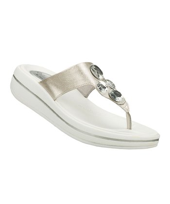 Silver Change-Up Upgrades Sandal