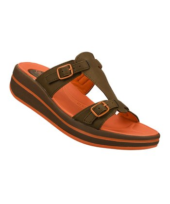 Brown On the Run Upgrades Sandal
