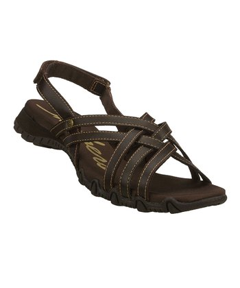 Chocolate Dream Weaver Bikers Sandal