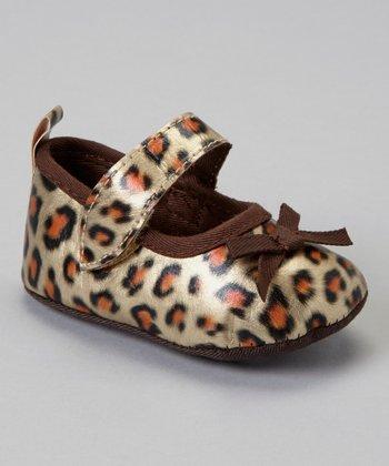 Laura Ashley Leopard Mary Jane