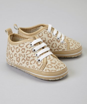 Latte Leopard Slip-On Sneaker