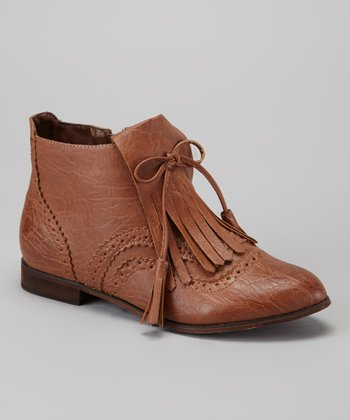 Cognac Oxy 3 Ankle Boot