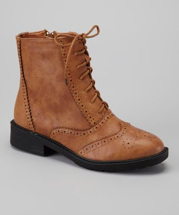 Camel Wax 1 Ankle Boot