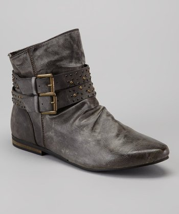 Gray Pisa 10 Ankle Boot