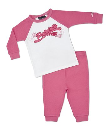 Pink Patriots Raglan Tee & Pants - Toddler & Girls