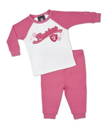 Pink Raiders Raglan Tee & Pants - Infant, Toddler & Girls