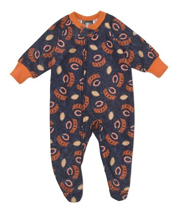 Orange Chicago Bears Footie - Infant & Toddler