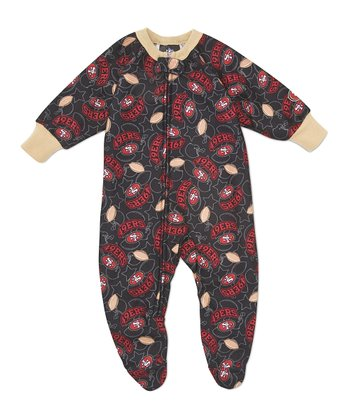 Red San Francisco 49ers Footie - Infant & Toddler
