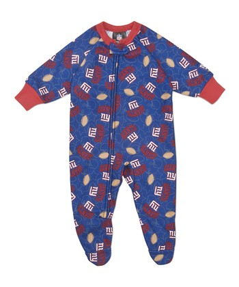 Blue New York Giants Footie - Infant & Toddler