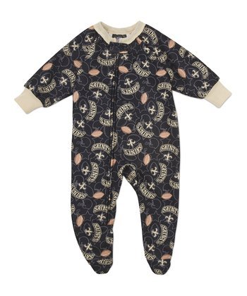 Olive New Orleans Saints Footie - Infant & Toddler
