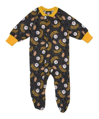 Yellow Pittsburgh Steelers Footie - Infant & Toddler